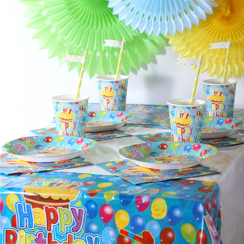 109*180cm Free Shipping Brithday tablecloth Cute tablecloth party supplies tablecover favor 1pcs kids birthday party decoration(China (Mainland))