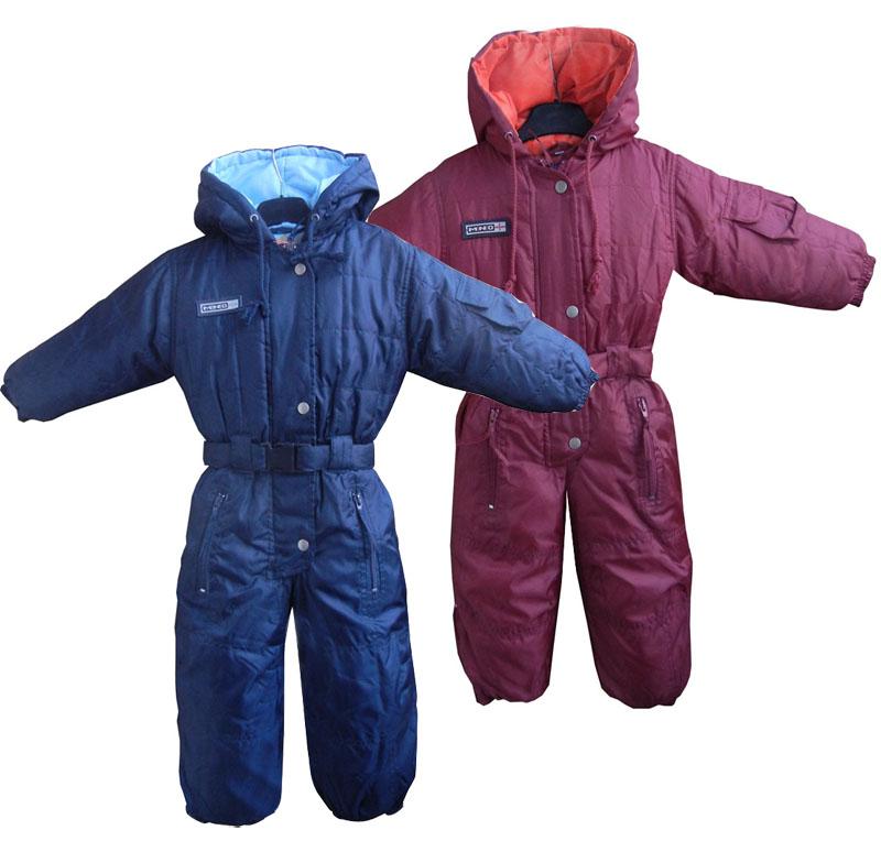 Boys Winter Rompers Kids Waterproof Windproof Coveralls