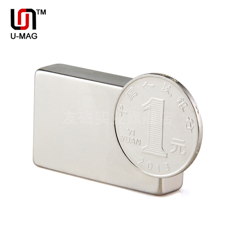 1pcs Block 40x25x10mm N52 Super Strong Rare Earth Magnets Neodymium Magnet high quality Free shipping<br><br>Aliexpress