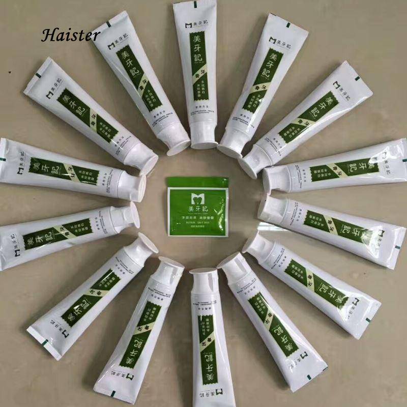150G Cubano fórmula de leite de arroz comestível creme dental para dentes branqueamento dentes branqueamento dentes dente amarelo para micro-produtos