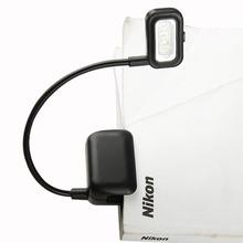 3 LED Black Book Light Flexible Gooseneck Portable Travel Reading Clip Lamp EB3370(China (Mainland))