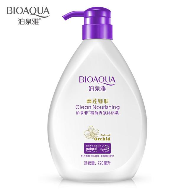 Природный чистый питательный эфирное масло гель для душа мытья тела с добавлением ...