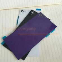 Sacos & Casos de Telefone Replacment para Sony Xperia Z1 L39h L39 Bateria Voltar Tampa DA Caixa Capa Impermeável Etiqueta Flash Câmera Lente