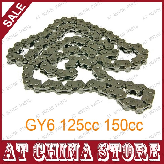 45 Links Timing Chain for GY6 125cc 150cc 152QMI 157QMJ Engine Scooters Mopeds ATV Go Kart Quads