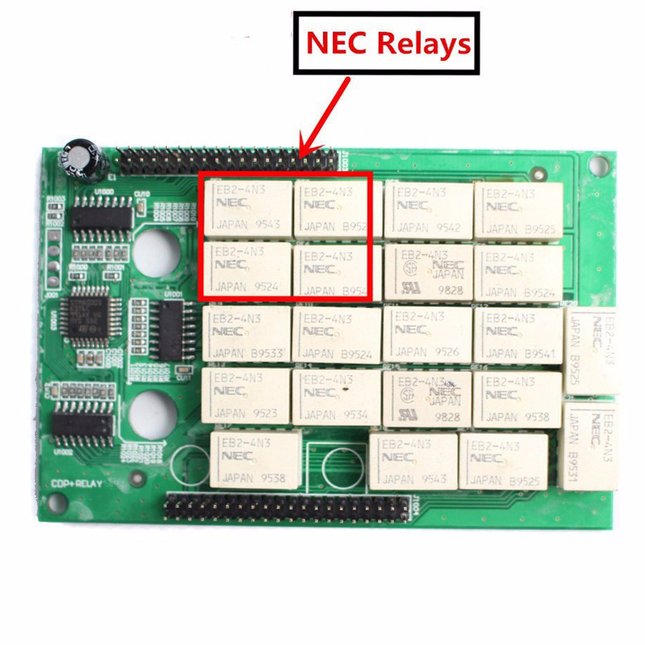 10pcs/lot Nec relays WoW SNOOPER V5.008 R2 2015 R3 +wow keygen optinal with without Bluetooth TCS CDP Diagnostic Tool for Cars