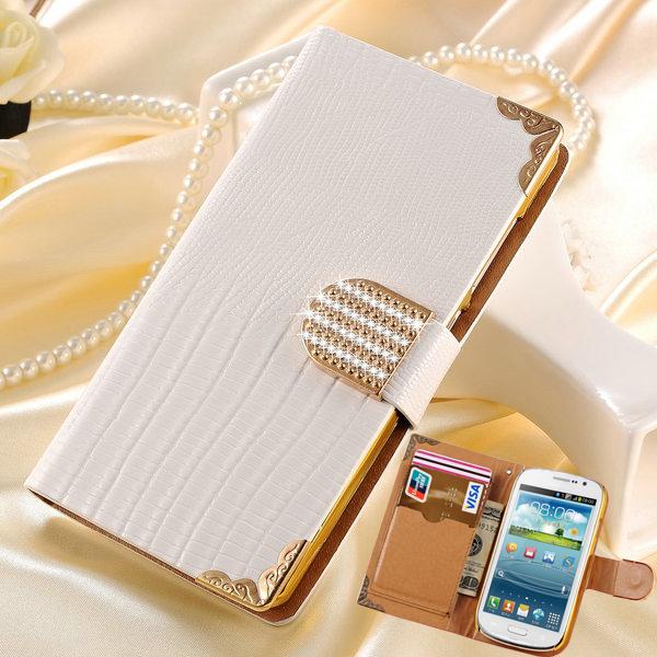 i9082 Shining Wallet PU Leather Case for Samsung Galaxy Grand DUOS i9082 i9080 Neo i9060 i9062 Phone Rhinestone Bag Cover(China (Mainland))