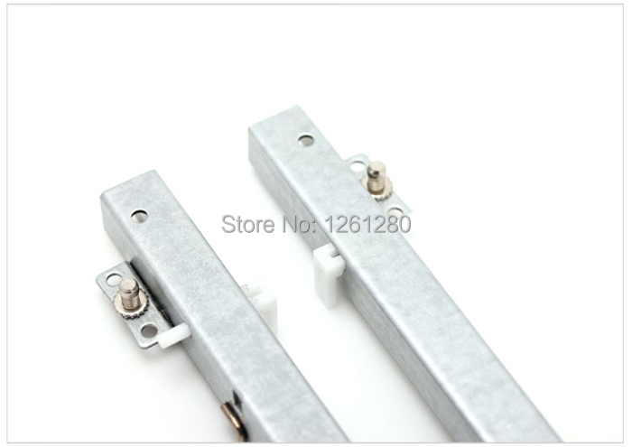 free shipping Damp muted slides furniture hardware rail computer desk slide Keyboard cabinet drawer track lifting bottom bracket