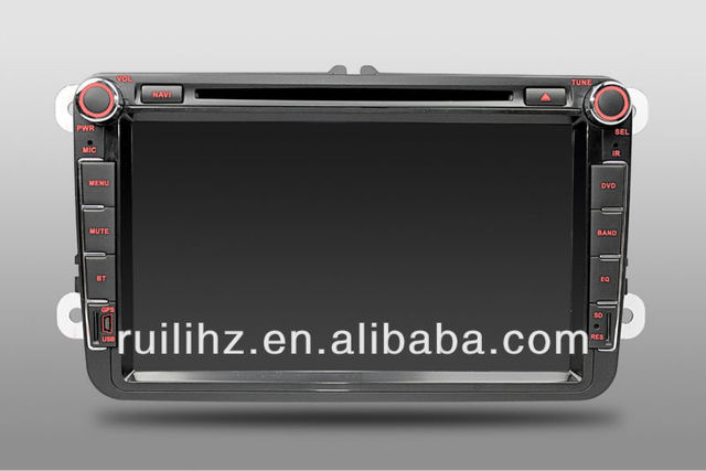 VW BEETLE  Car Player DVD GPS CD Player Automotive 2 din  8 inch  Free 4GB memory Card Free map