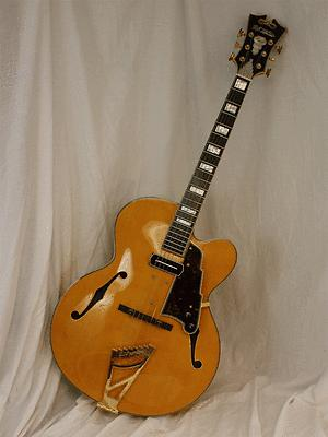 D'Angelico EXL-1 Hollowbody Electric Guitar - Lollar Charlie Christian pickup(China (Mainland))
