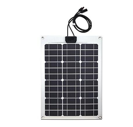 ETFE Semi-flexible Solar Panel Aluminum Material 50 Watt for Car use(China (Mainland))