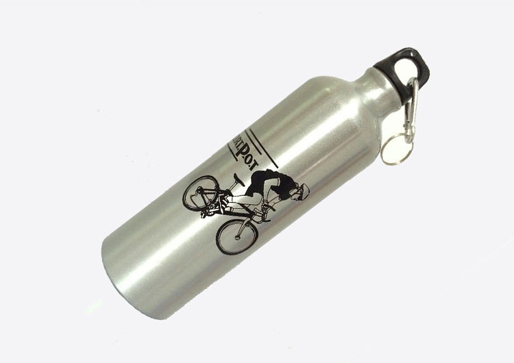 750ml Sports Bottle Bicycle Cycling Travel Bottle,Outdoor Water Bottle,Student Metal Drinking Bottles - GUANHE Store store