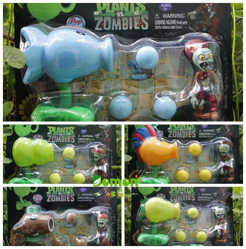 2016 New Game Plants Vs Zombies Peashooter Action Figure Model Toy Plants Vs Zombies Toys For Baby GiftS Kawaii Hot Selling(China (Mainland))