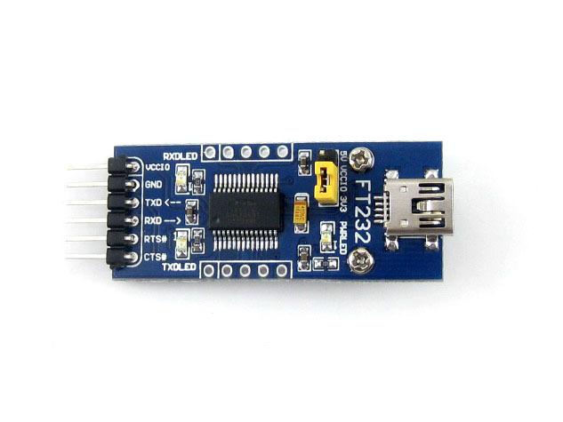 FT232RL Module FT232 USB 3.3V 5V to TTL Serial Adapter Module FT232RL USB Mini Port(China (Mainland))