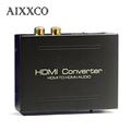 AIXXCO 1080P HDMI/MHL to SCART Video Audio Upscale Converter AV Signal Adapter HD Receiver TV DVD