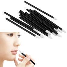 D6li 100PCS/Set Disposable MakeUp Lip Brush Lipstick Gloss Wands Applicator Make Up Tool M29 RV(China (Mainland))