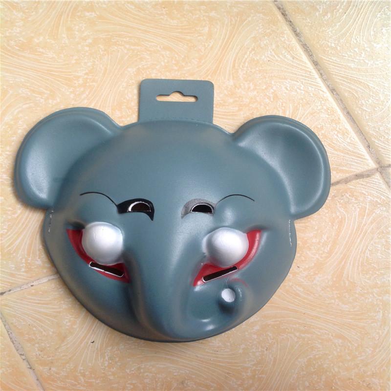 EVA animal masks elephant can used pendant face + monkeys, little sheep Halloween mask - Shenzhen xuanku trading Co., LTD store