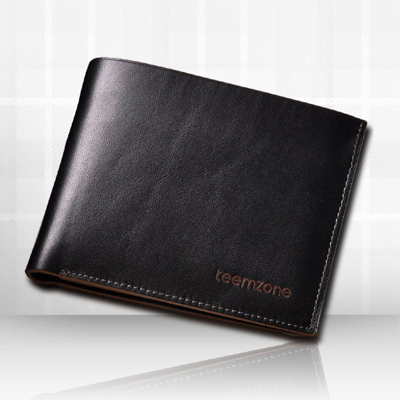 2014 Sale Clutch Purses Bolsas Femininas Carteira First Layer Cowhide Male Wallet Two-fold Short Design Genuine Leather Men's - Fashiongo store