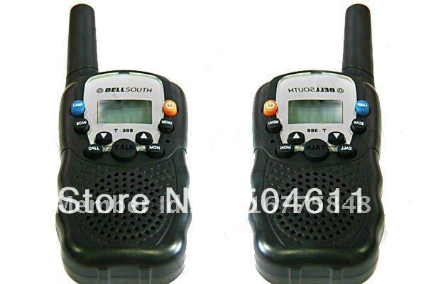 Bellsouth 5km 22-channel FRS Walkie Talkie Interphone Long Range (Pair)