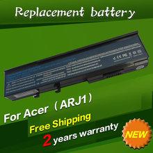 11.1V Laptop Battery for BTP-ARJ1 BTP-B2J1 AMJ1 ANJ1 AOJ1 APJ1 AQJ1 ASJ1 B2J1 TravelMate 6593 GARDA31 TM07B41