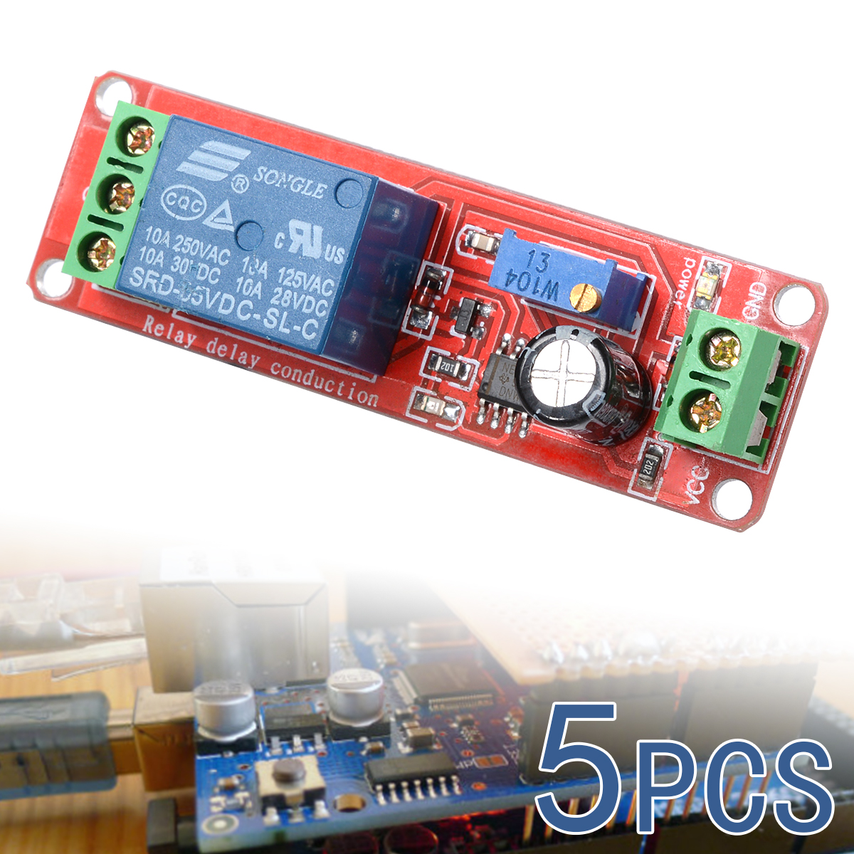 Spare Parts DC 12V High/Low Level Trigger Time Delay Relay Switch Module TE155(China (Mainland))
