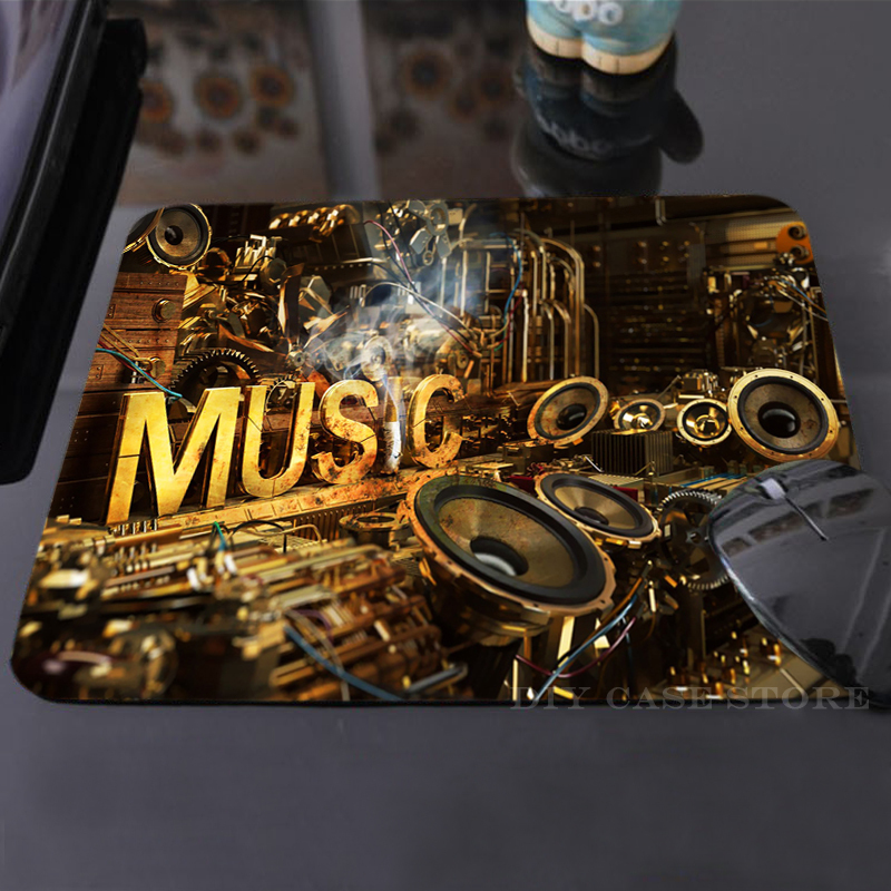 Vintage Music Mouse Mat Rubber Cool Non-Skid Desk Gaming Mouse Pad<br><br>Aliexpress