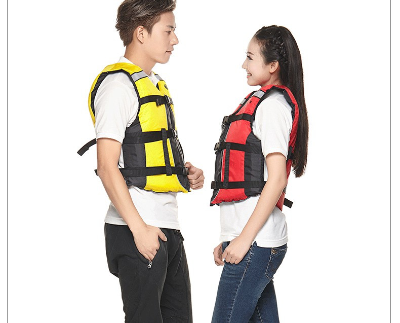 QIAN SAFETY Child/Adult Accessorial Life Vest EPE Buoyancy Foam Water Sports Lifesaving Swimming  Accessorial Life Jacket
