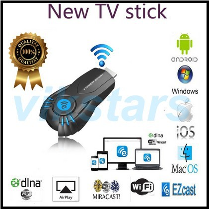 Vsmart v5ii ezcast smart tv stick media player with function of DLNA Miracast better than android tv box mk808 mk908 Hot sale(China (Mainland))