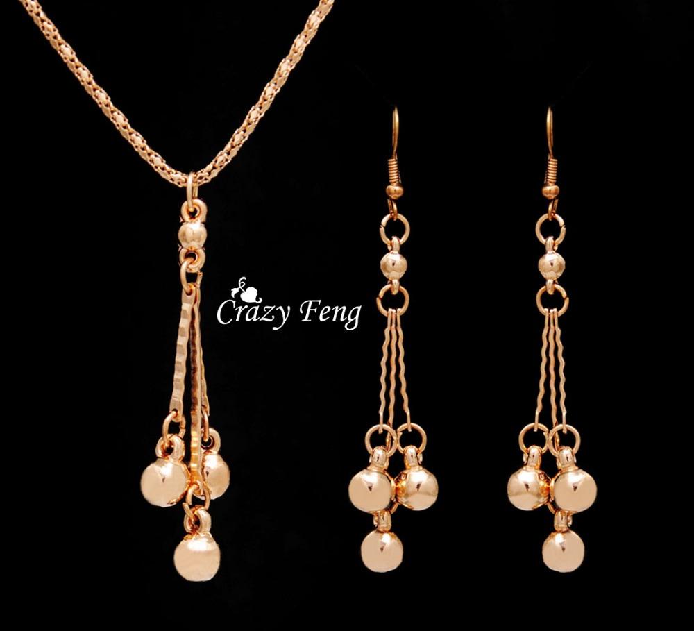 Aliexpress.com : Buy Trendy Jewelry Sets Necklace Earrings ...