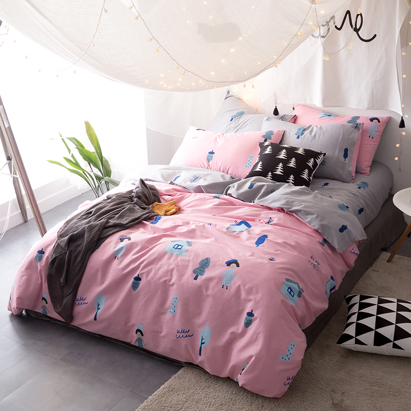preis auf pink satin bedding vergleichen online shopping. Black Bedroom Furniture Sets. Home Design Ideas