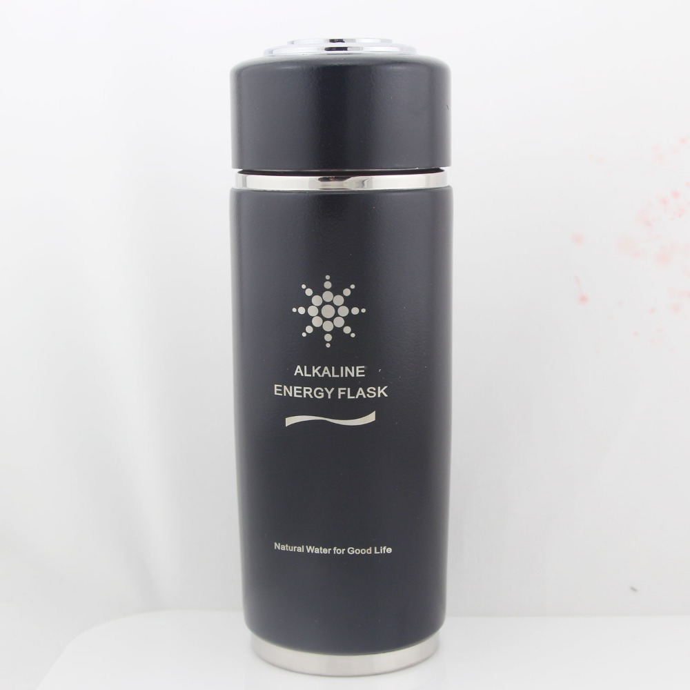 Health care! Stainless steel Alkaline Energy Nano Flask Cups Direct Drinking Water Bottle Cup Natural Mineral Water  Four color<br><br>Aliexpress