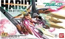 Free shipping 2014 NEW 1:144 HG 15cm Genuine Bandai HG 00-68 GN-011 Gundam Harute demon angel up Assembled Gundam Model toy
