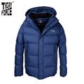 TIGER FORCE Brand Men Winter Down Jacket 70 White Duck Down Thick Down Coat Parka European