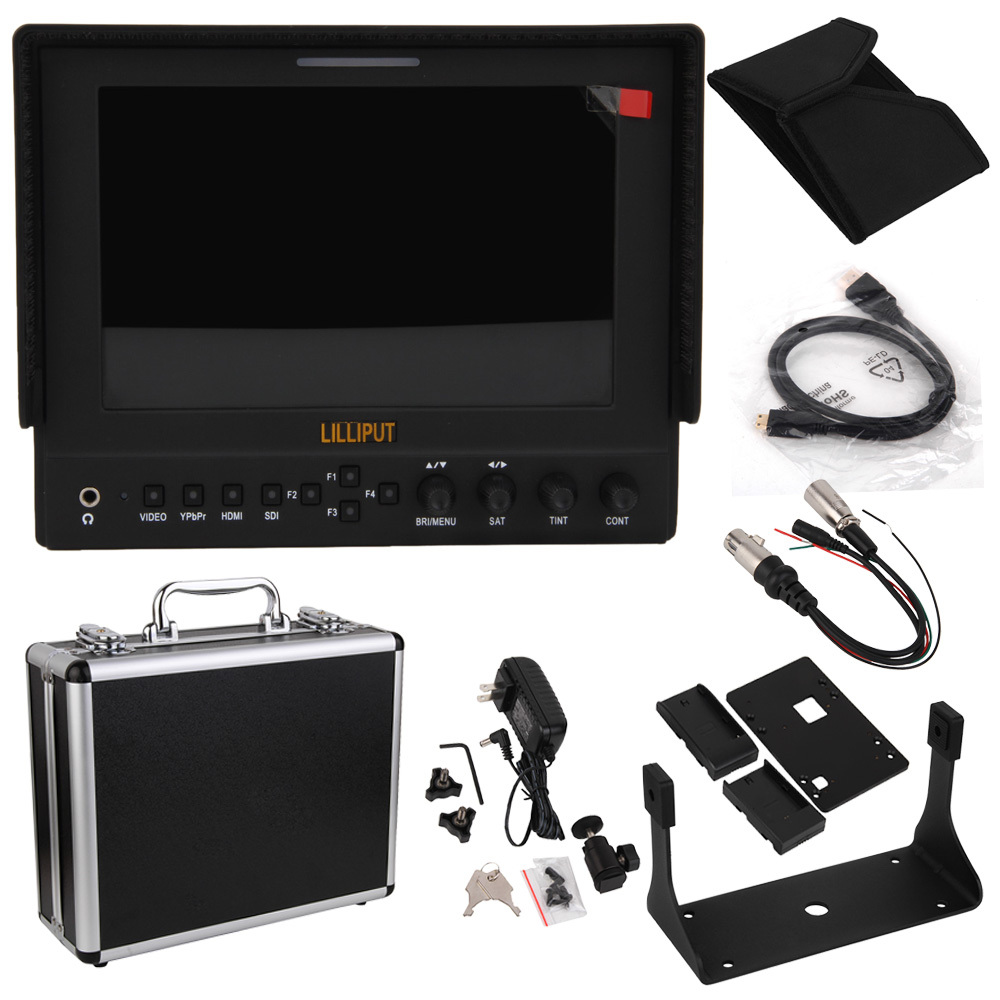 """Lilliput 663/O/P2 7"""" IPS 1280*800 Field LCD Monitor HDMI In Out Monitor Vectorscope Waveform Shipping by SZEMS 7-10days get it(China (Mainland))"""