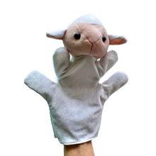 Mão fantoche animal brinquedos de pelúcia para bebês animais fantoche panda girafa tartaruga dragão coelho macaco pai criança brinquedos interativos(China)