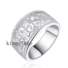 PR51 Christmas gift  wholesale Retro silver plated women wedding party ring / best quality / fashion Charm classic Jewelry(China (Mainland))