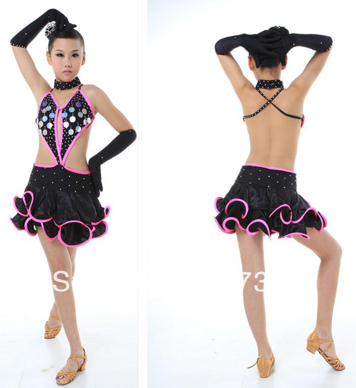 Baile adolescente adolescente latino caliente