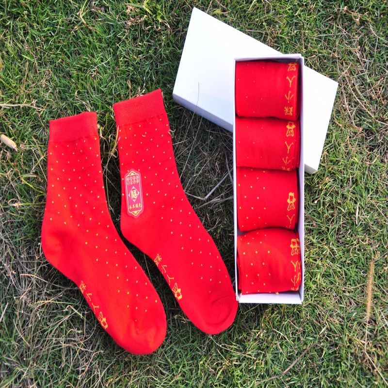 5pairs/lot Hot 2017 In Tube Socks Men's Traditional chinese socks Classic Solid Color Socks Man Brand All-Match Cotton Socks