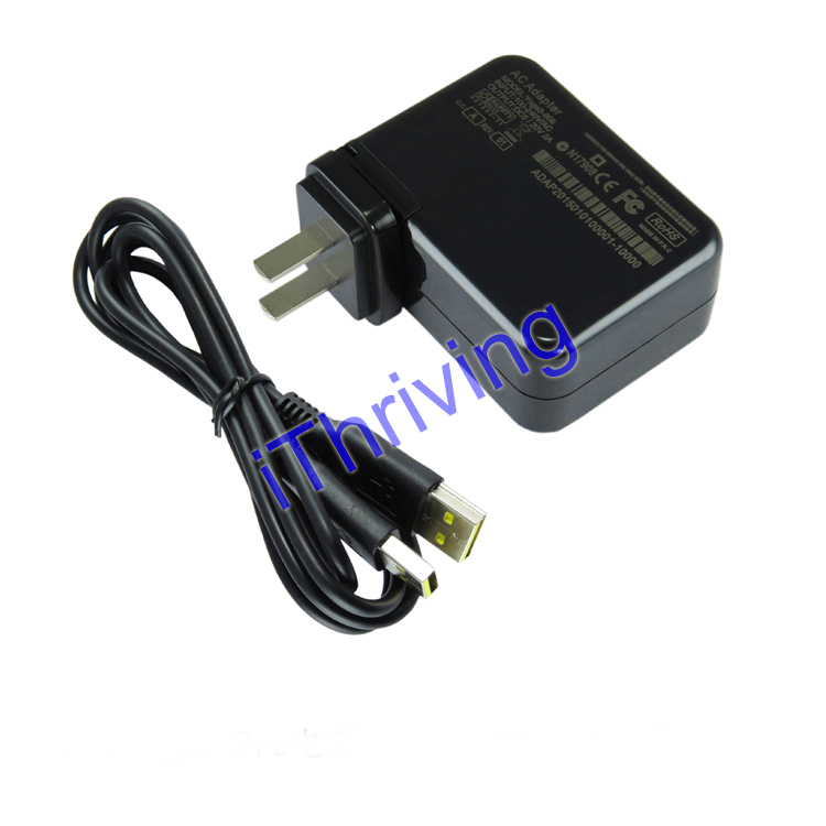 iThriving 20V 5V AC Adapter for Lenovo Yoga 3 pro Charger with USB for Yoga 3