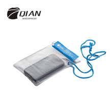 QIAN SAFETY Professional Transparent PVC Waterproof Bag 3 Pieces/Set Multi-functional Water Sports Drift Canoe Swimming Dry Bag