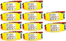 10PCS 30A Brushless 450 helicopter multicopter Motor Speed Controller RC ESC +Free shipping(China (Mainland))