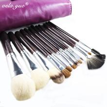 12pcs/set Makeup Brushes Sable Hair Professional Makeup Tools kit Free Shipping