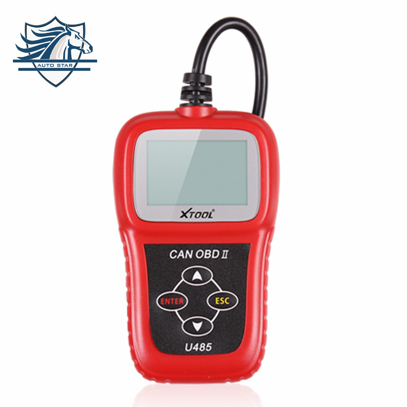 Hot Sale Newest Can Bus Obd2 Code Reader U485 EOBD2 OBDII CAN-BUS Scanner Read & Clear DTCs Support Multi-brand Cars(China (Mainland))