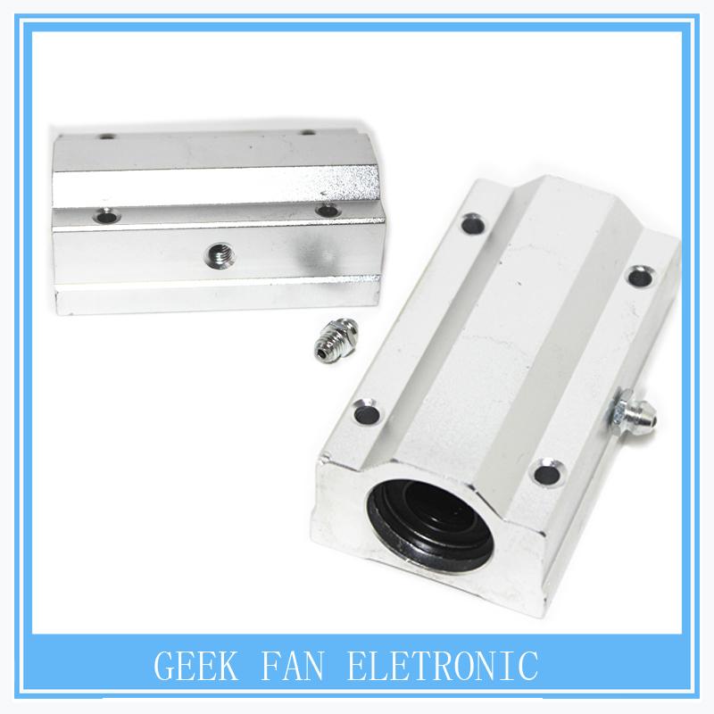SCS16LUU / SC16LUU Linear Bearing 16mm Linear Slide Block XYZ CNC SCL Series free shipping G405(China (Mainland))