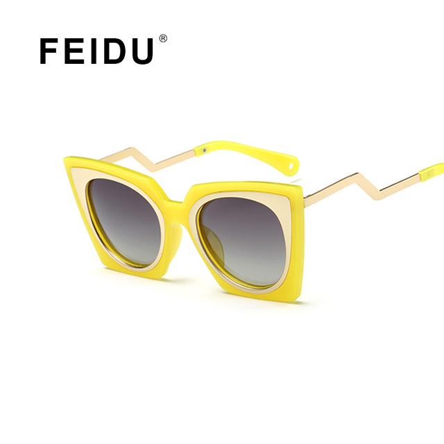 FEIDU 2016 Детская Мода Поляризованные Детские Солнцезащитные Очки Мальчики Девочки Серый Объектива Квадратные Солнцезащитные очки Дети Anti-Uv Gafas Óculos Де Золь