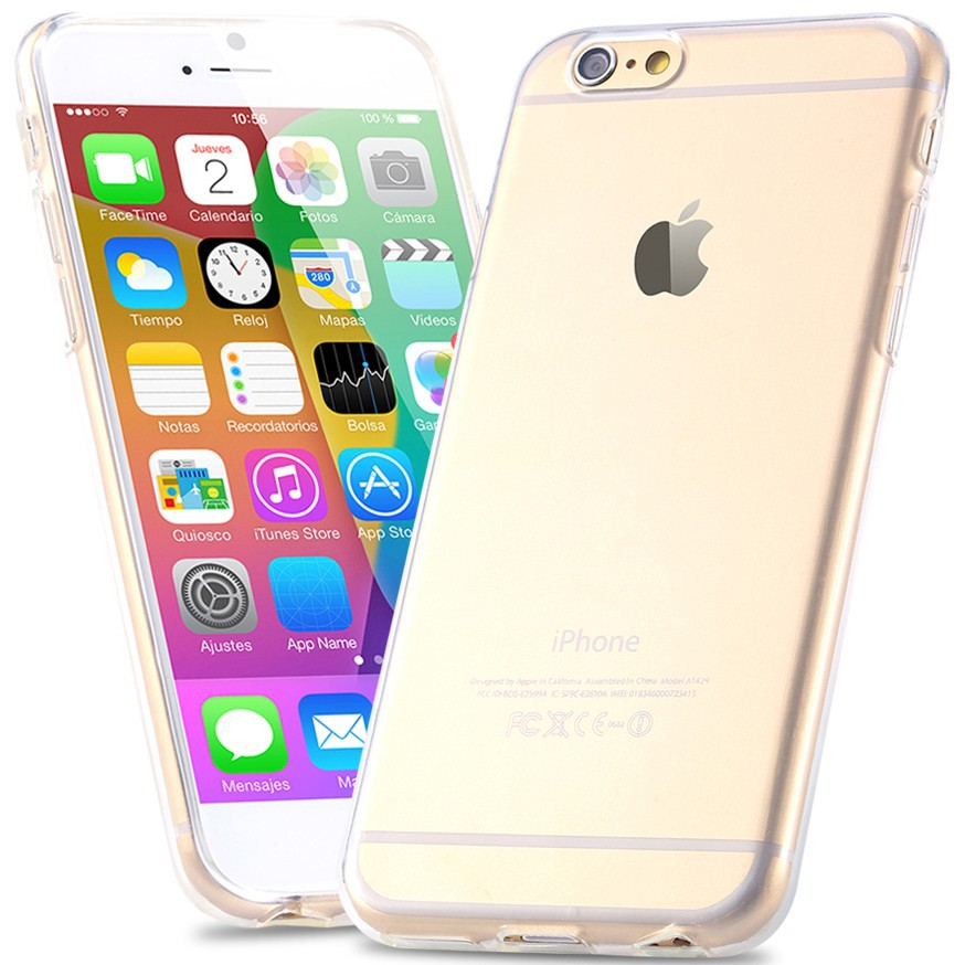 0.3mm Super Slim Crystal Clear Soft TPU Gel Case For iPhone 6 6S Slim Transparent Cover Phone Cover For iPhone 6 Plus 6S Plus(China (Mainland))