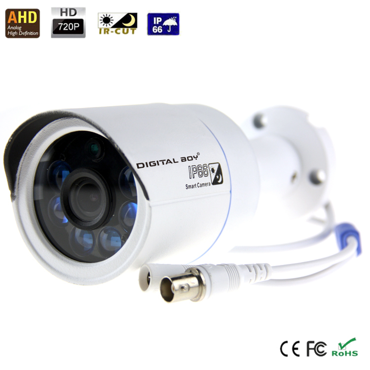 "New Digital Boy AHD Analog High Definition Surveillance Camera 1/4"" 1.0MP 720P HD CMOS camera 1.3MP Lens with IR CUT Digital Boy()"