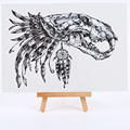 new Skull temporary tattoos sticker waterproof temporary body arts flash tattoo sticker tatoo Men and women henna tattoo