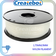 Black white transparent color 3d printer nylon filament 1 75mm 3mm PA nylon filament