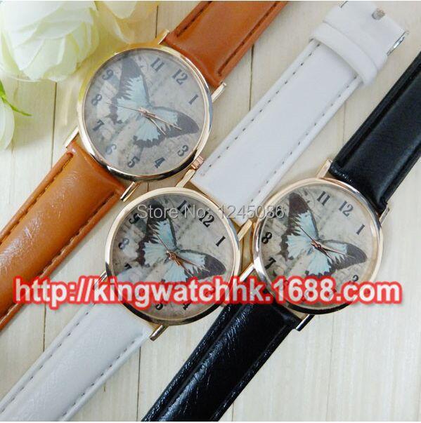 2015! Luxury fashion women leather watch 3 styles high-grade quartz Reloj Butterfly Style Wristwatch - Andy Studios store