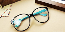 Brand fashion big glasses frame men and women retro vintage decorative frames without lenses round glass frame wholesale